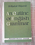 An Outline of English Grammar, english, polovna