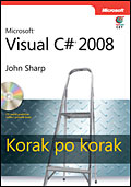 Microsoft Visual C# 2008, korak po korak + CD
